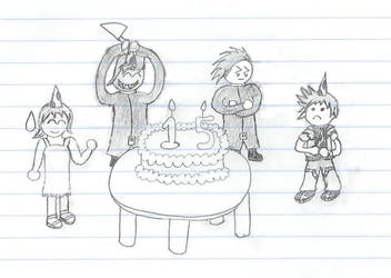 Birthday Sketch by Zecarius