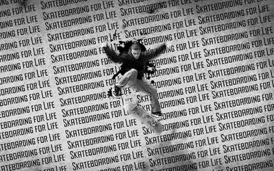 Skateboarding For Life by Germanow17
