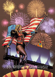 Happy 4th Of July Britney Spears and Jubilee by GIULIOLABRADOR