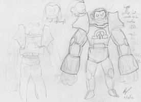 Titan Mode Preliminary Sketches by baratus93
