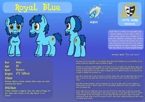 Royal Blue Reference Sheet by baratus93