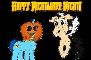 Nightmare Night Preparations by baratus93