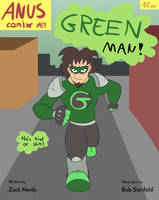 Green Man: Issue 1 Cover by baratus93