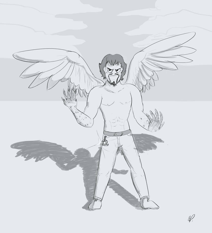 Eagle Man by baratus93