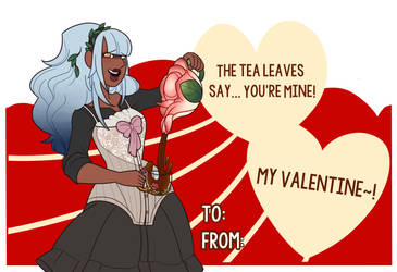 OI: Vii's Valentines Card by Miyanko