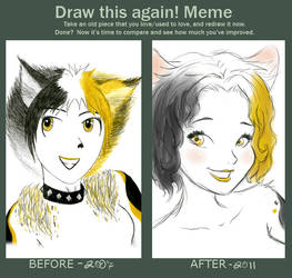 Draw This Again Meme by shmemcat