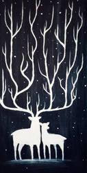 Deer by shmemcat