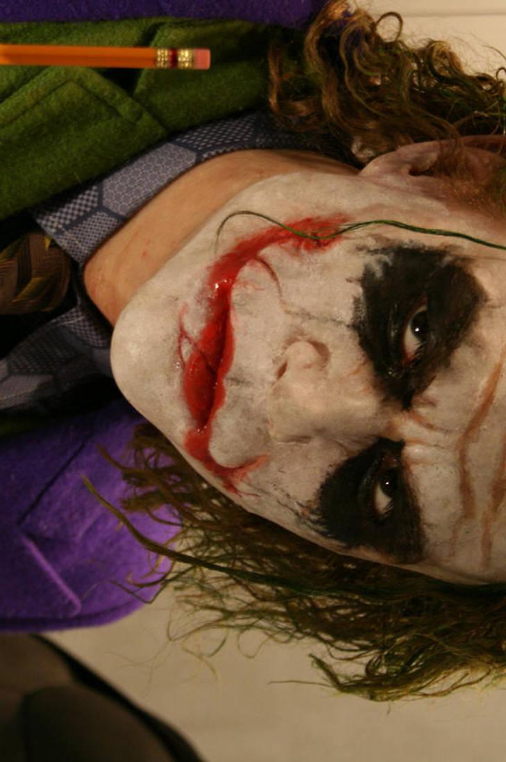 HEATH LEDGER the Joker by BobbyC1225