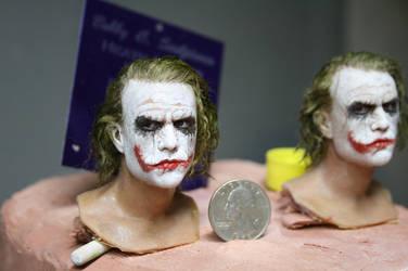 one sixth scale joker head 2 by BobbyC1225