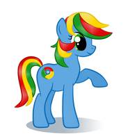 My Little Browser: Chrome by NoReasonToHope