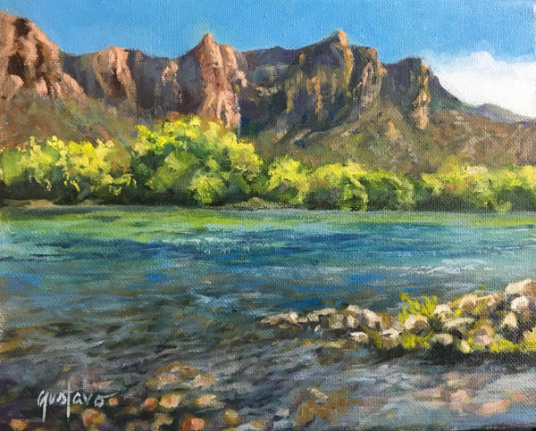 Afternoon at Salt River by Ravenhaven
