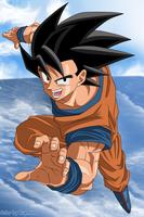 DragonBall Goku by Ruymond