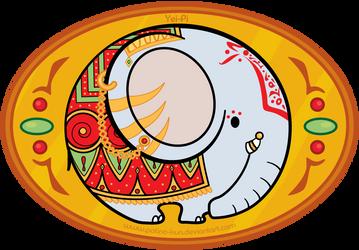 Hindi Elephant by Yei-Pi