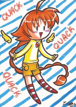 Art Card 06 - Duck by VickyViolet