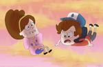 Gravity Falls by VickyViolet