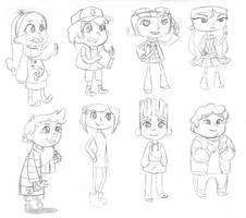 Mystery Kids Crew by VickyViolet