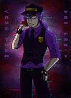Purple Guy by VickyViolet