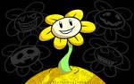 Flowey the Flower by VickyViolet