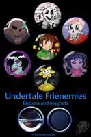Undertale 'Frienemies' Set by VickyViolet