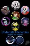 Undertale 'Frienemies' Set by VickyViolet