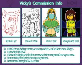 Vicky's Commission Info by VickyViolet