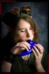 Ocarina Link by VickyViolet