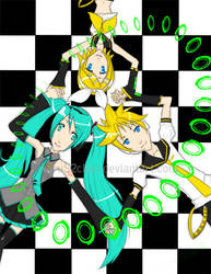 AX o9: VOCALOID sing in MIDI by HikaruS2chan