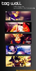 Tag Wall Dragon Ball by ImmortalZero