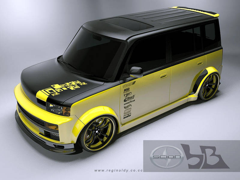 Custom Scion Xb By 3dmanipulasi On Deviantart
