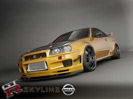skyline custom 1 by 3dmanipulasi