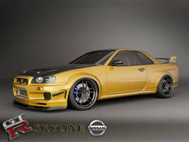 skyline custom 2 by 3dmanipulasi