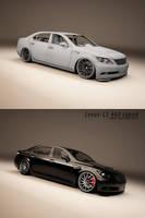Lexus LS 460 tuned-wip by 3dmanipulasi