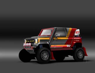 Urban XUV  Dakar by 3dmanipulasi