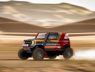DakarRun by 3dmanipulasi