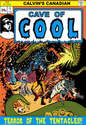 Calvin's Canadian Cave of Cool Comic Cover by IllustratorErik