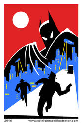 Batman Animated Tribute by IllustratorErik