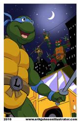 Turtle Power by IllustratorErik