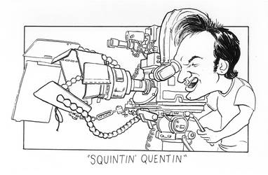 Squintin' Quentin by IllustratorErik