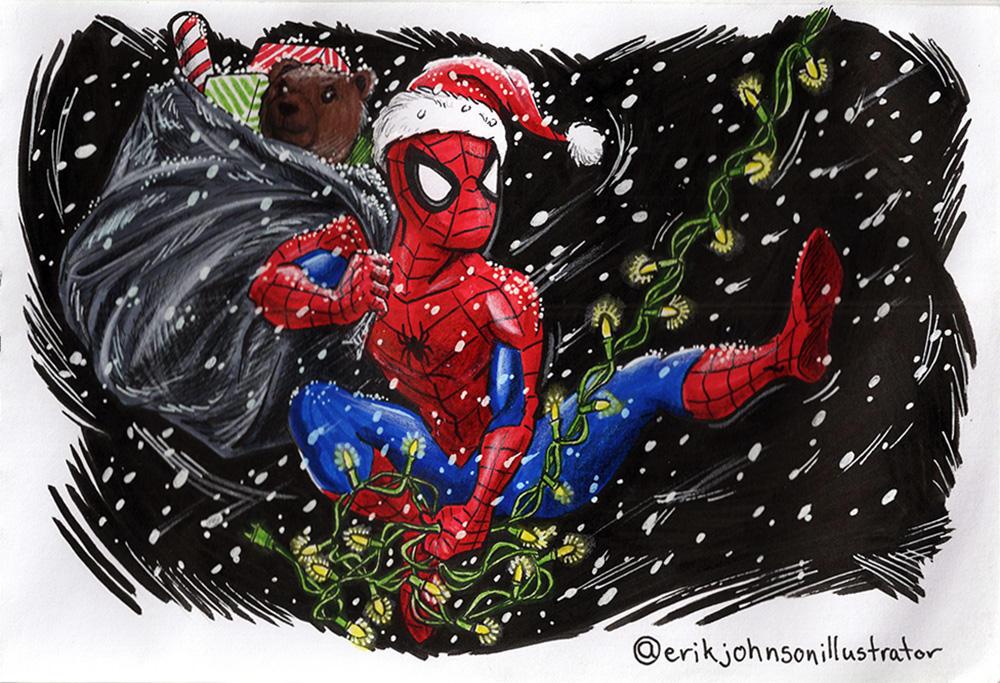 Spider Senses Jingling! by IllustratorErik