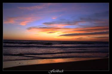 Sunset on the Costa de la Luz by Flashback981