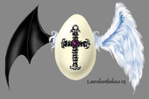 Egg by Lauralanthalasa