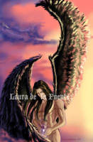 Black wings by Lauralanthalasa