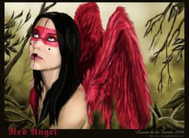 Red Angel by Lauralanthalasa