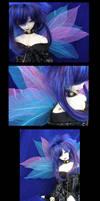 Blue Fairy by Lauralanthalasa