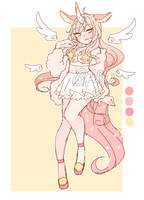 [CLOSED- auction] dreamy unicorn adopt by fruitice