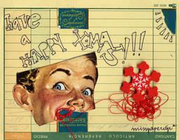 have a happy xmas. by misspaperclip