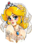 Princesa Peach - Super Mario Odyssey by Karenali