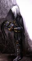Raistlin: Death Knight by Kabudragon