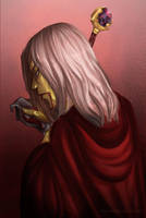 Raistlin Majere by Kabudragon