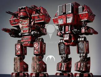 Warlord Titans of Proximus Pattern by taumich